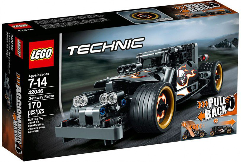 LEGO Technic Ontsnappings Hot Rod 42046