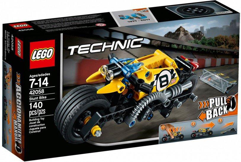LEGO 42058 Technic Stuntmotor doos