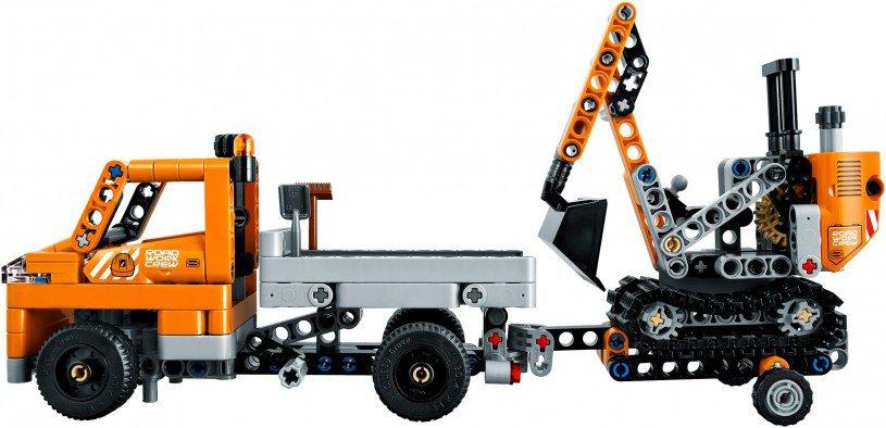 LEGO 42060 Technic Wegenbouwploeg