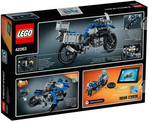 LEGO 42063 Technic: BMW R 1200 GS Adventure