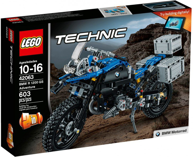 LEGO 42063 Technic: BMW R 1200 GS Adventure