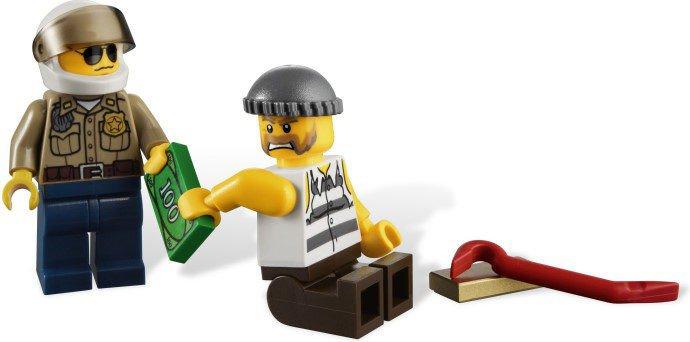 LEGO City - Politie achtervolging 4437