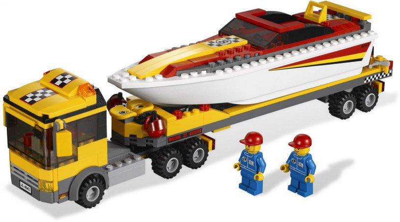 LEGO City Motorboot Transport 4643