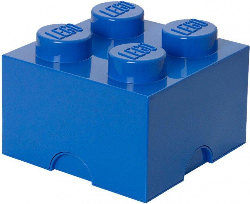 LEGO Opbergen - Lego Opbergbox blauw - Brick 4