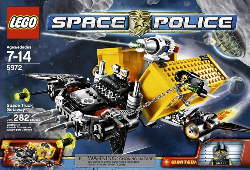 LEGO Space Police Container Heist 5972