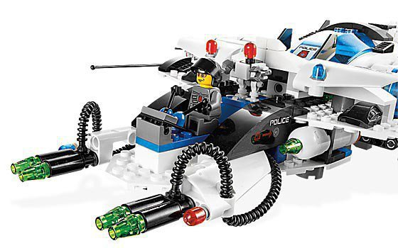 LEGO Space Police Galactic Enforcer 5974
