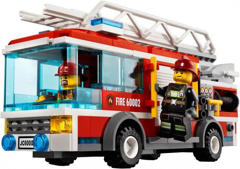 LEGO City Brandweertruck 60002