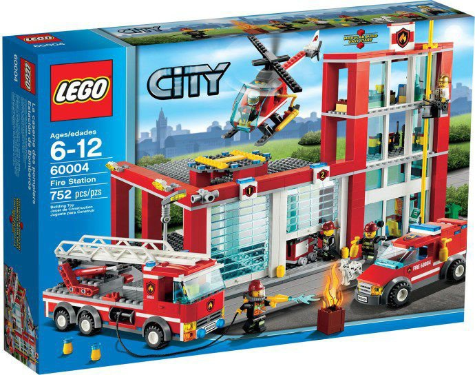 LEGO Brandweerkazerne 60004