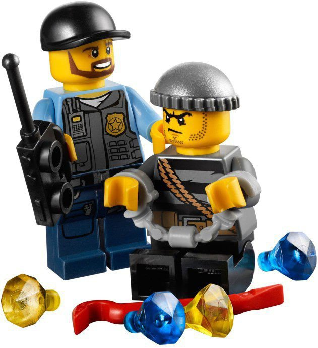 LEGO City - Politie Quad 60006