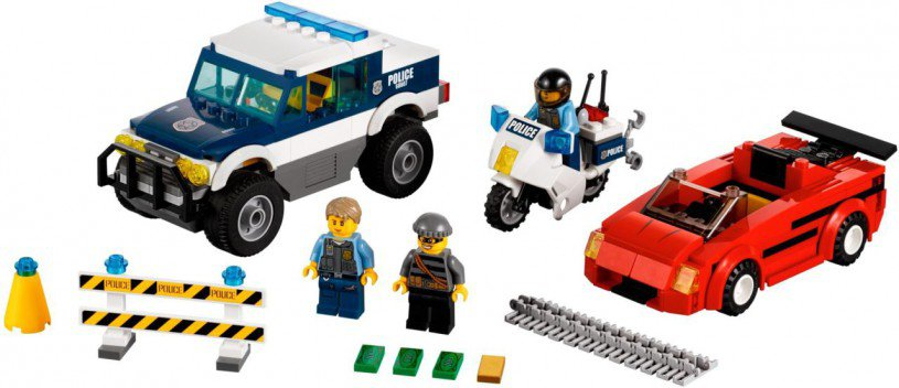 LEGO City - Snelle achtervolging 60007