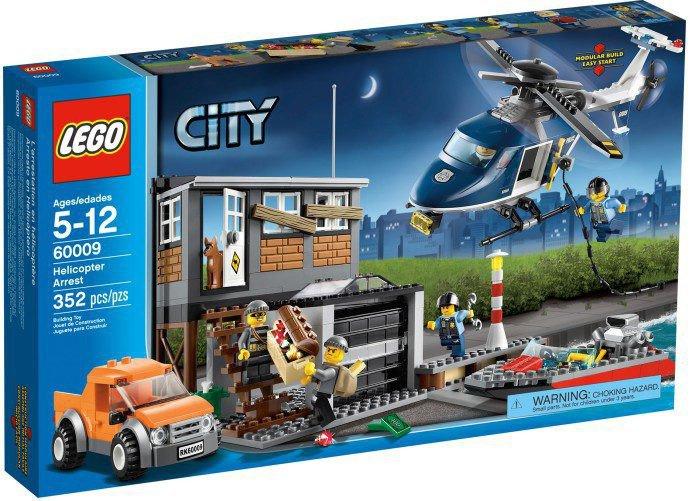 LEGO City - Helicopter achtervolging 60009