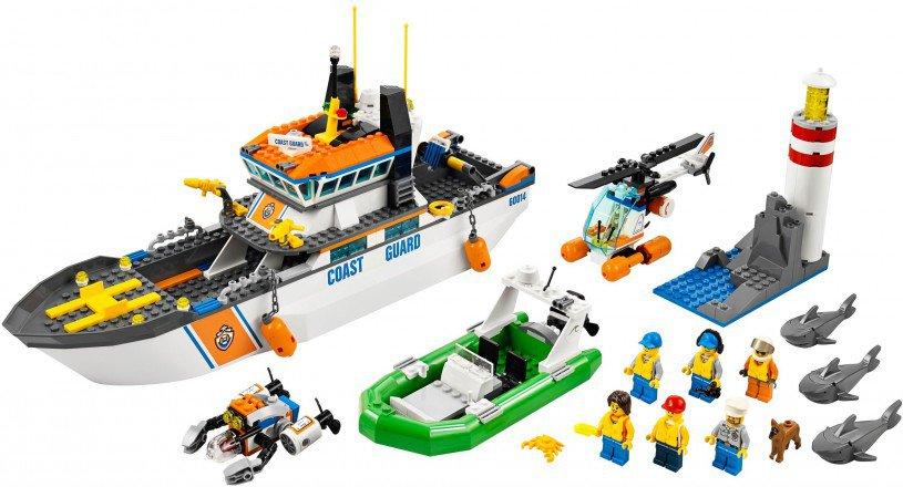 LEGO City Kustwacht patrouille boot 60014