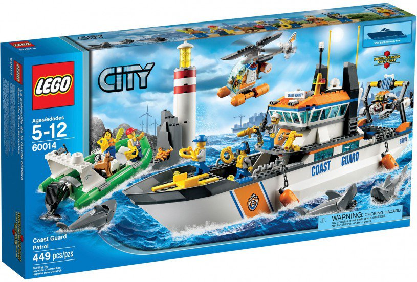 Lego Shark Toys For Boys : Lego city kopen kustwacht patrouille boot