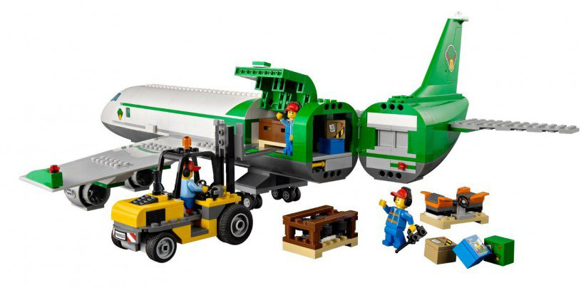 LEGO City Vrachtterminal & Vrachtvliegtuig 60022
