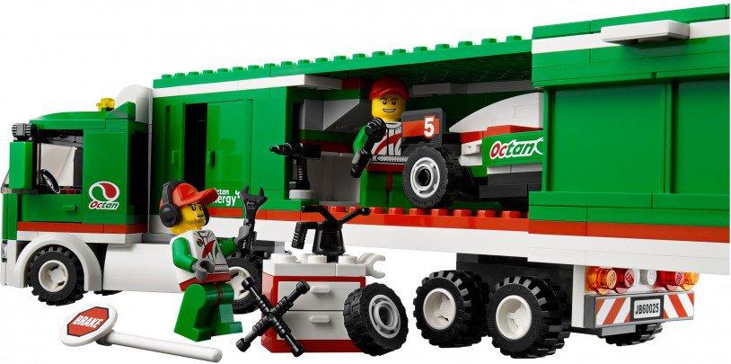 LEGO City Formule Racewagen Truck 60025