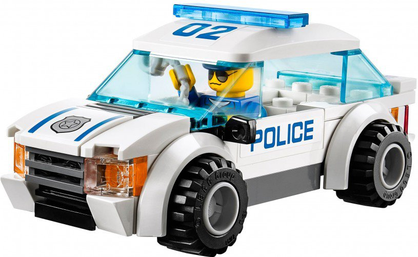 LEGO City Boevenjacht 60042
