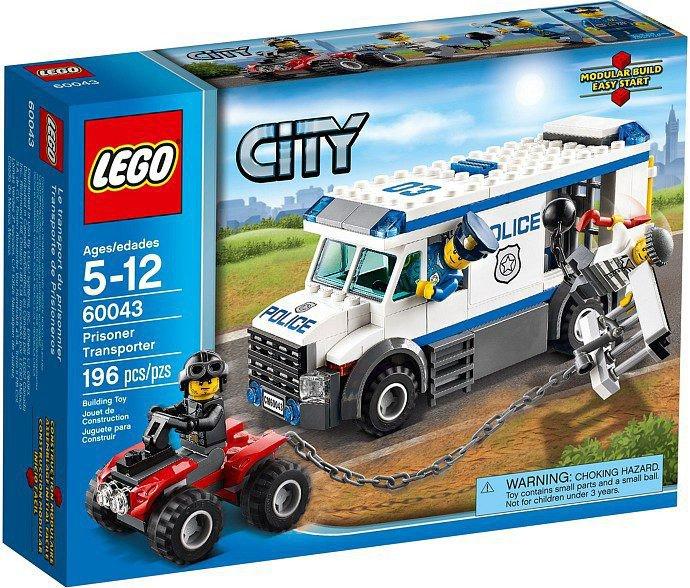 LEGO City - Gevangenen Transportvoertuig 60043