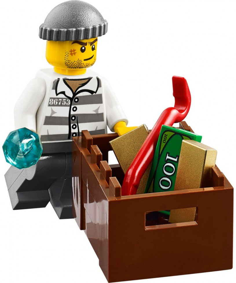 LEGO City - Politie Helikopter bewaking 60046