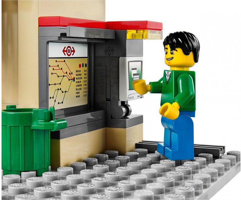 LEGO Treinstation 60050