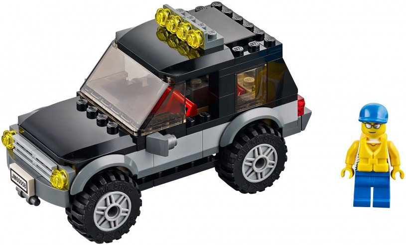 LEGO City SUV met waterscooters 60058