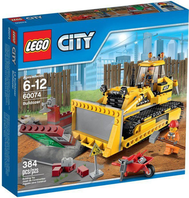 LEGO City - Bulldozer 60074