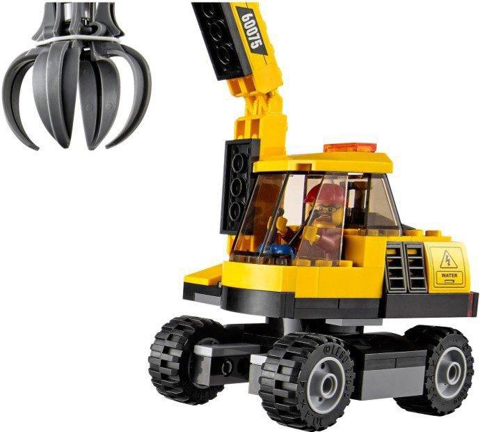 LEGO City - Graafmachine en Truck 60075