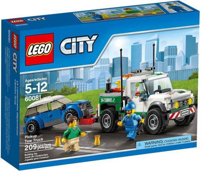 LEGO City - Pick-up Sleepwagen 60081