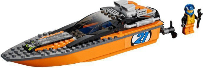 LEGO City - 4x4 met Speedboot 60085