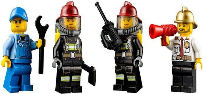 LEGO City Brandweer Terreinwagen 60105