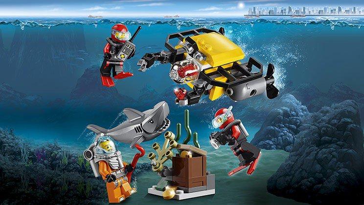 LEGO City - Diep Zee Starter Set 60091