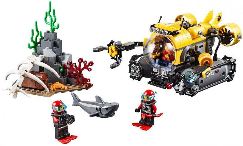 LEGO Diepzee duikboot 60092