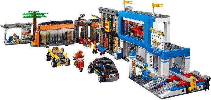 LEGO City - Stadsplein 60097