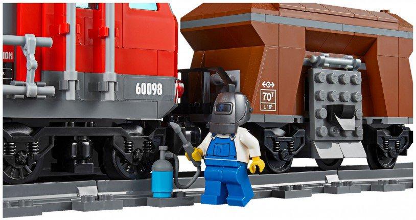 LEGO 60098 City Zware Goederen Vrachttrein