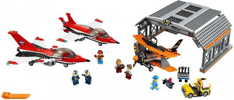 LEGO City Vliegveld Luchtvaartshow 60103