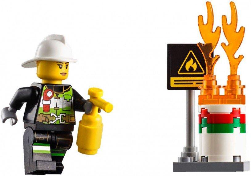 LEGO City Brandweer Ladderwagen 60107