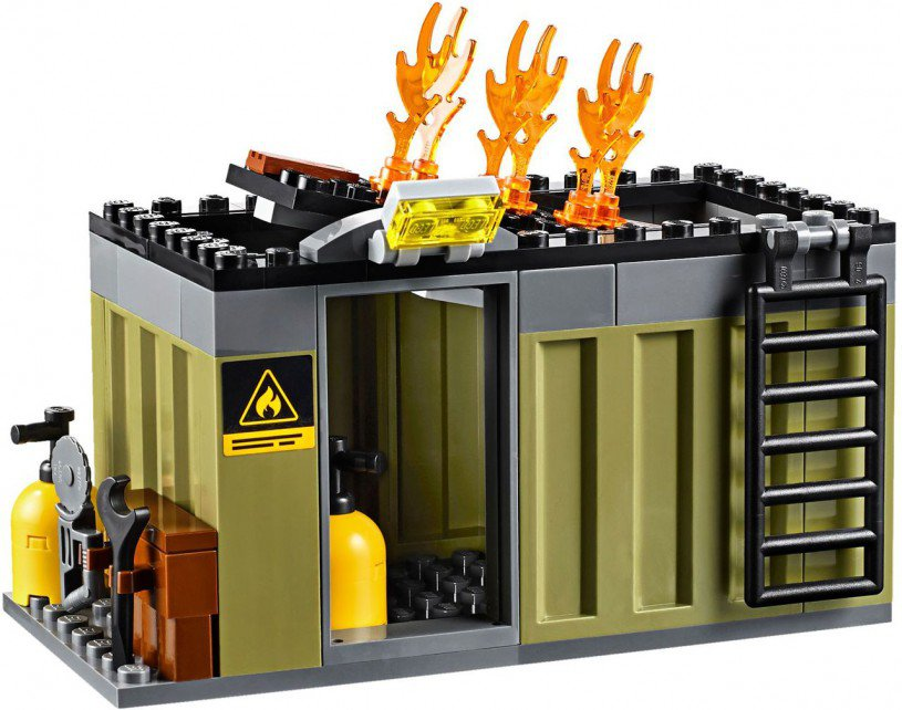 LEGO City - Brandweer Inzetgroep 60108