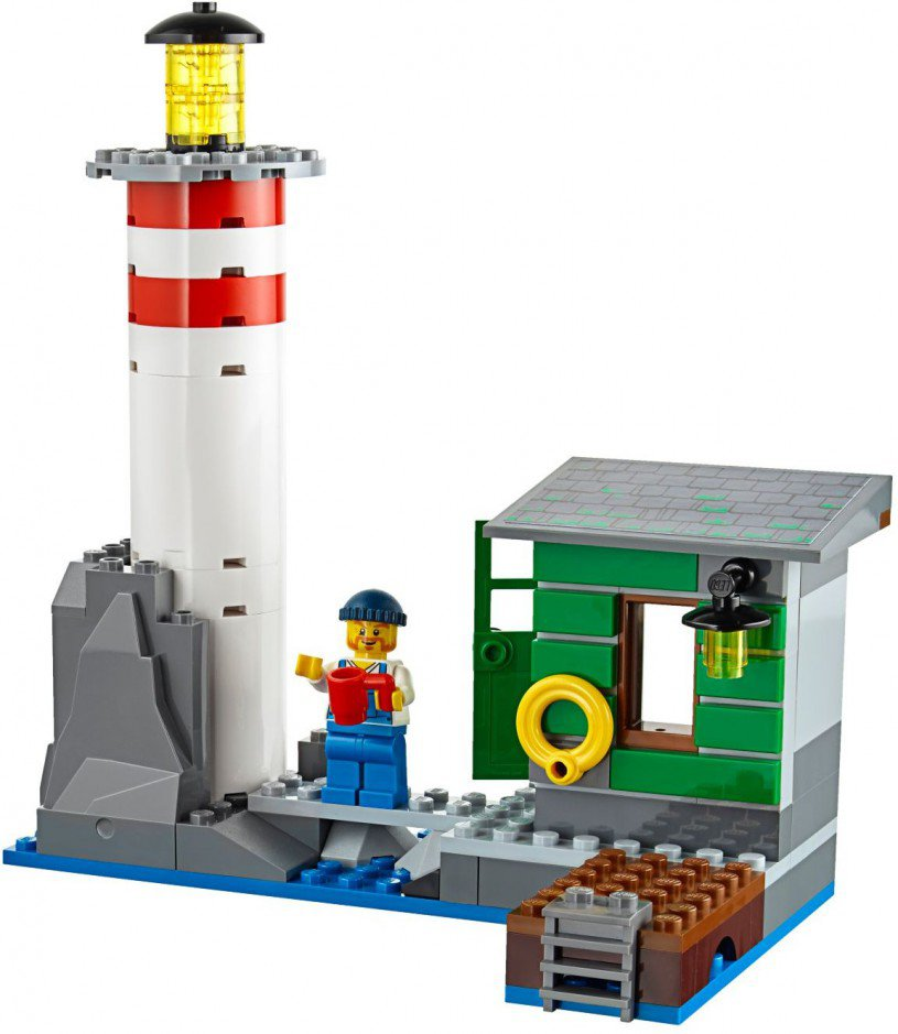 LEGO 60109 City: Brandweerboot