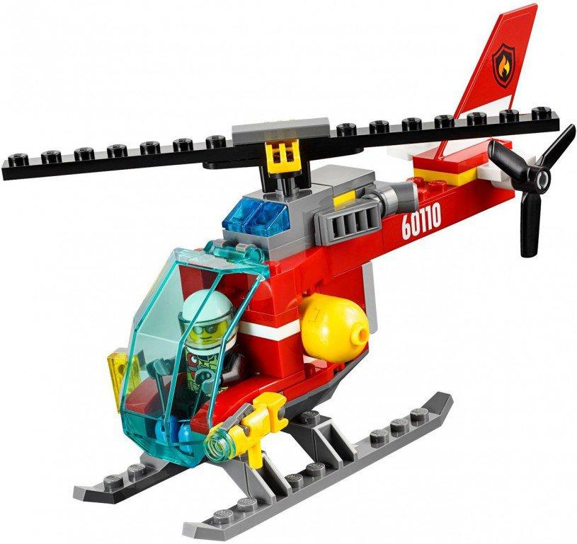 LEGO 60110: Brandweerkazerne