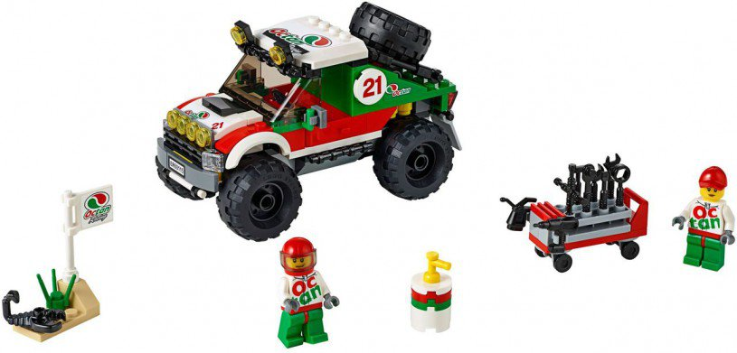 LEGO City - 4 x 4 Voertuig 60115