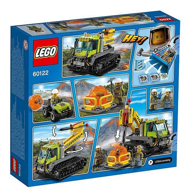 LEGO City Vulkaan Crawler 60122