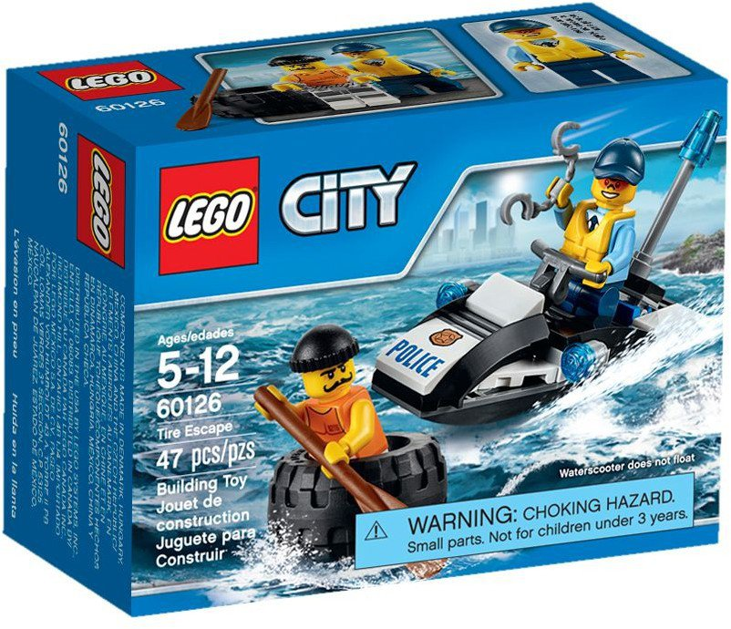 LEGO City Band ontsnapping 60126