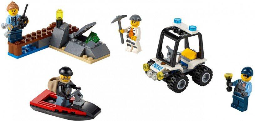 LEGO City - Gevangenis Eiland Starterset 60127