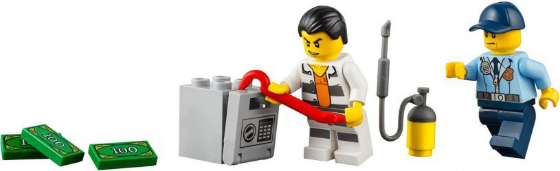 LEGO City Politie Achtervolging 60128
