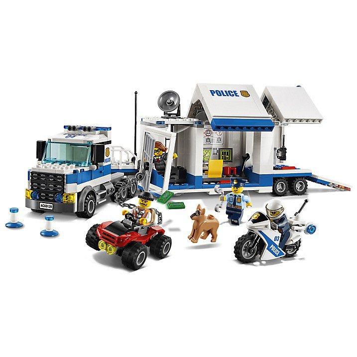 LEGO 60139 City Politievrachtwagen