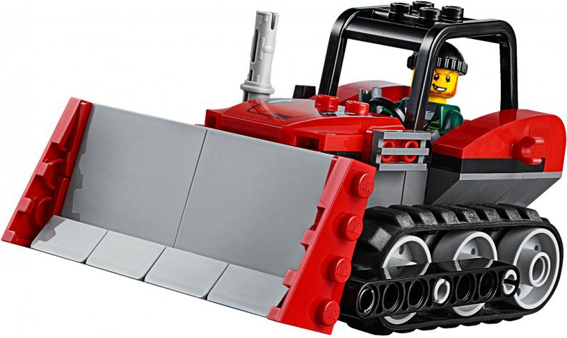 LEGO 60140 City Bulldozer inbraak