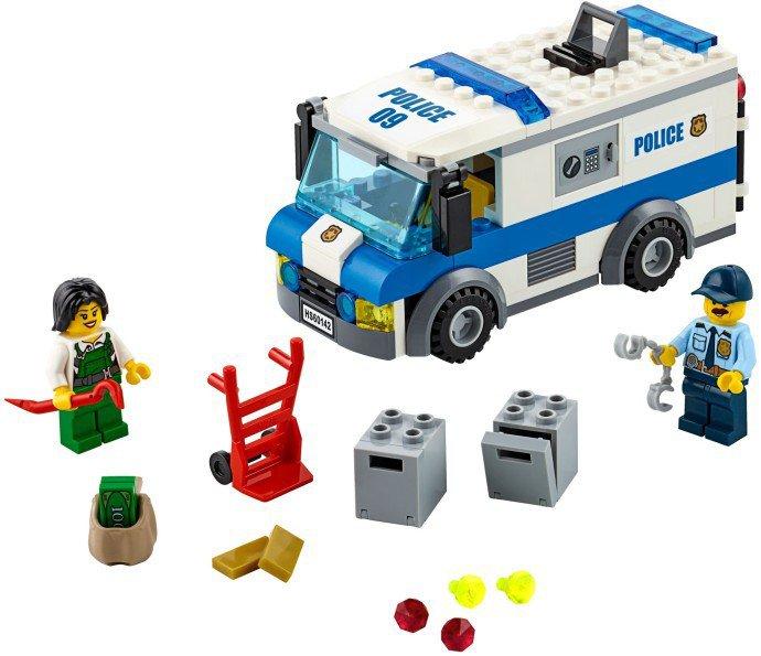 LEGO 60142 City Geldtransport