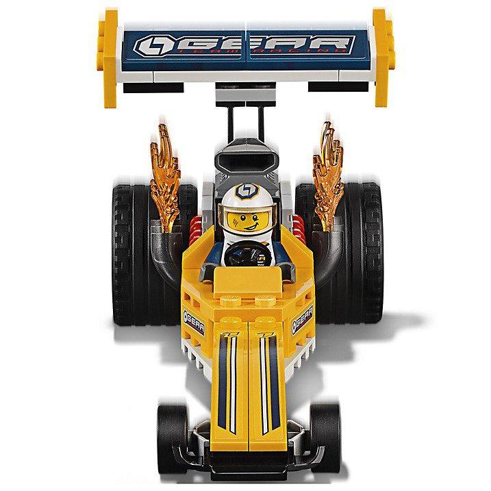 LEGO 60151 City Dragster transportvoertuig