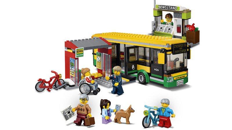 LEGO 60154 City: Busstation
