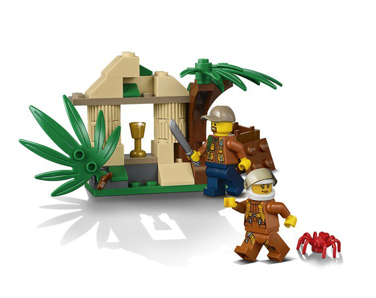 LEGO 60158 City: Jungle vrachthelikopter