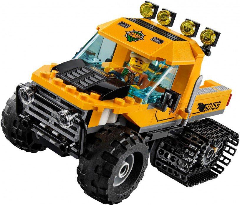LEGO 60159 City: Jungle missie met halfrupsvoertuig